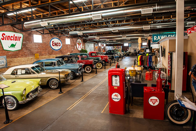 Car Dealerships In Texarkana >> Four States Auto Museum Attractions Texarkana Arkansas